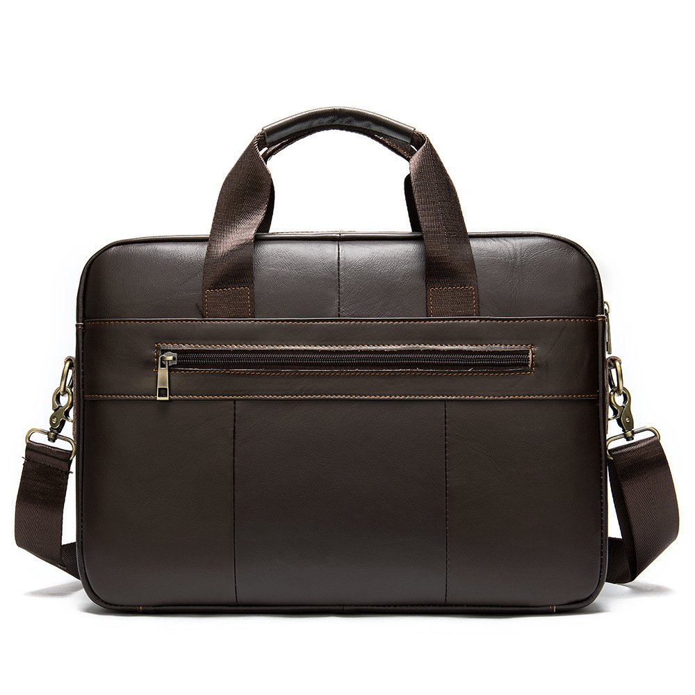 Genuine Messenger Computer Bag Men Leather Male Package Business Affairs Man Briefcase Handbag Single Shoulder Satchel Hand 2020