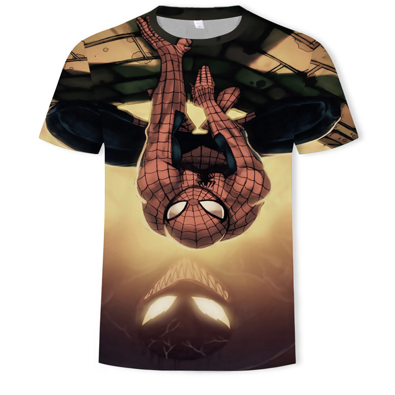 Мстители 3d футболка для мужчин супергерой Капитан Америка человек паук Железный человек летняя Новинка Дэдпул удобные футболки
