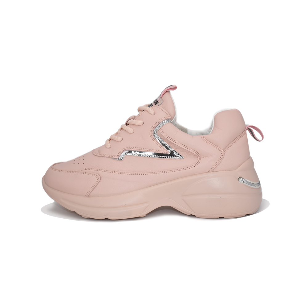Purlina /Platform Sneakers; Spring Autumn Pink  Mesh Casual Shoes; Vulcanized Sneakers For Women; Female Lace Up  Lady Shoes