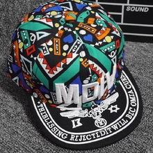 Baseball-Cap Boys Performance-Cap Embroidery Hip-Hop Sports Children's Fashion Letter