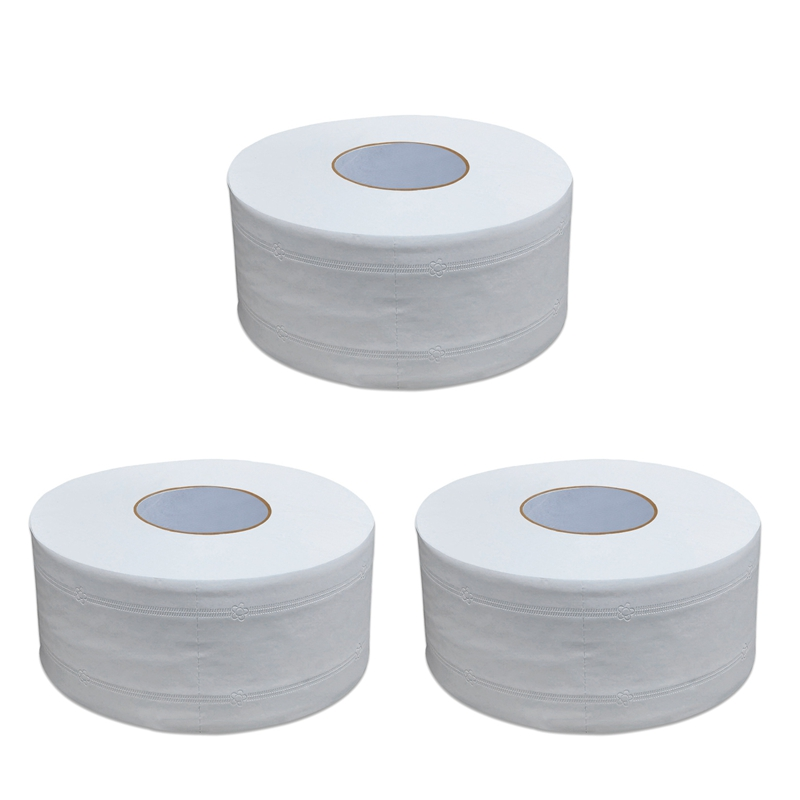 3 Rolls Of Household Roll Paper Toilet Paper Household Toilet Paper Hotel Toilet Paper Towel Roll