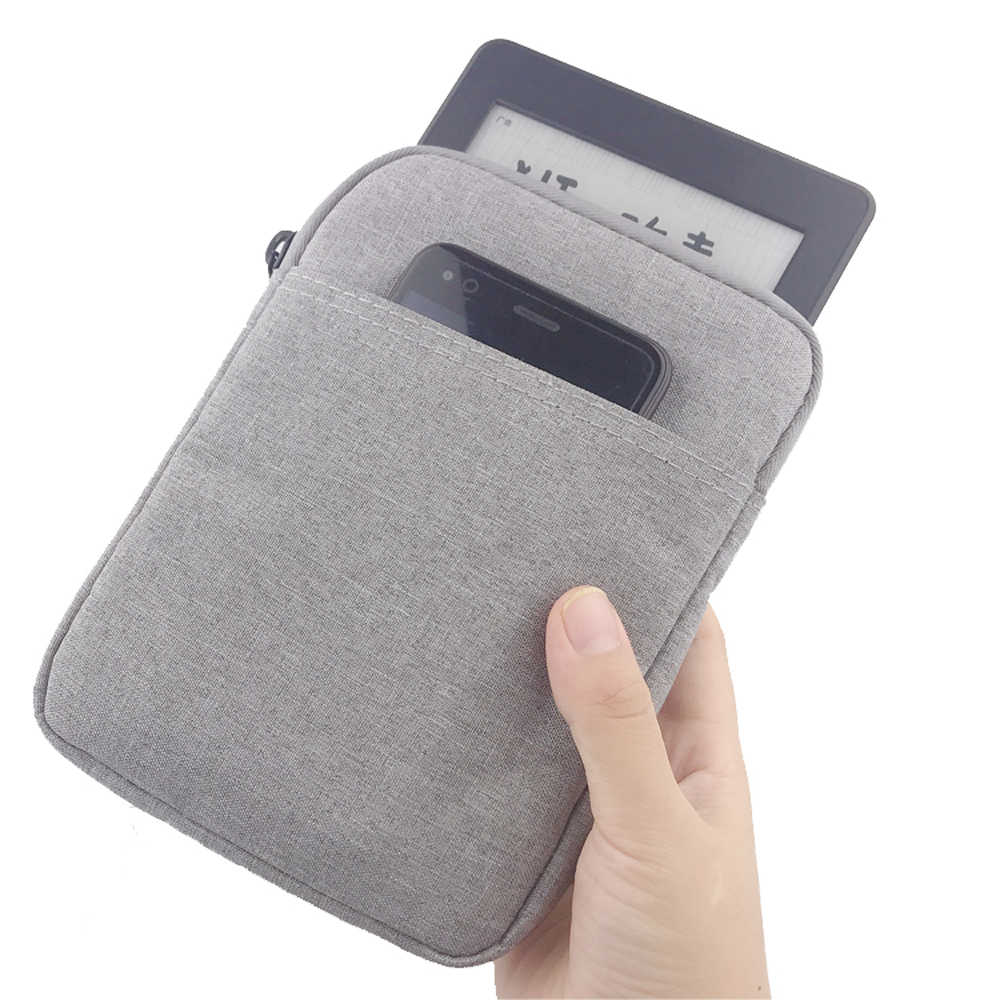 Rits Sleeve Bag Case Voor pocketbook kindle paperwhite 1 2 3 4 touch kobo nook sony 6 ''ereader cover