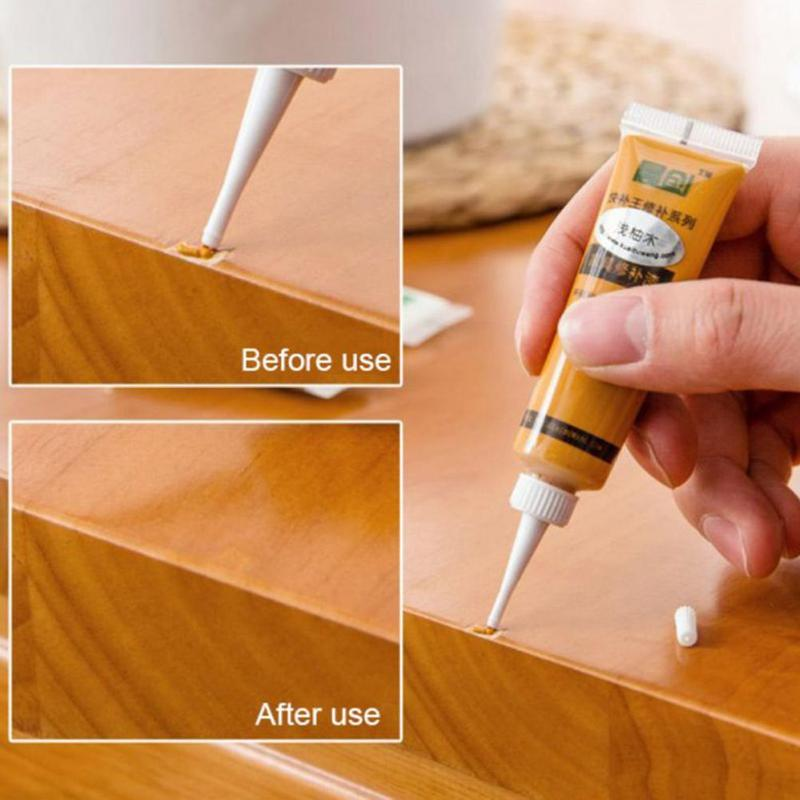 Wood Furniture Refinishing Paste Practical Repair Paint Wax For Furniture Home Decoration Wood Floor Scratch Fast Remover