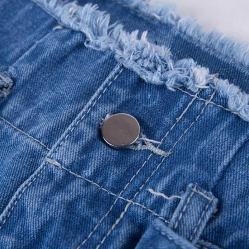 Pantalones vaqueros de cintura alta Sexy de pantalones de mezclilla harén para mujer Pantalones sueltos pantalones vaqueros negros para mujer