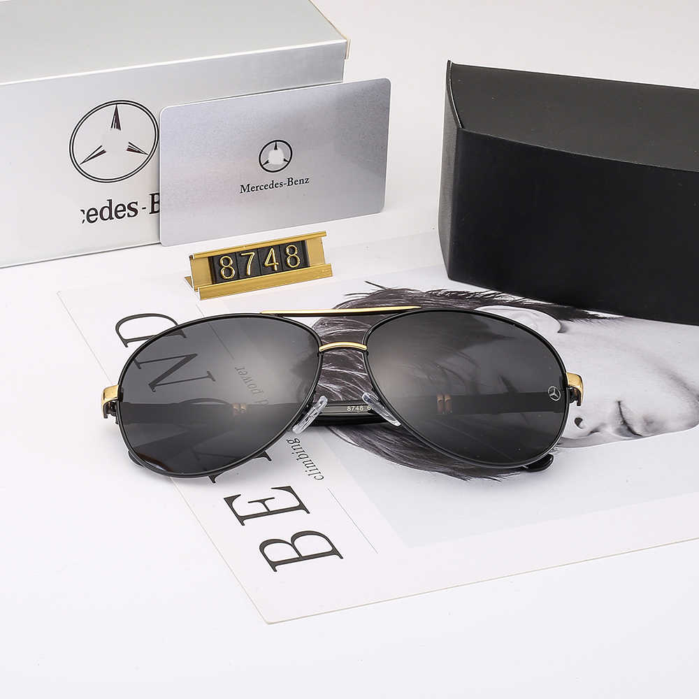 2020 Men/'s Polarized Sunglasses 4 Colors With Box Classic Driving Glasses Police
