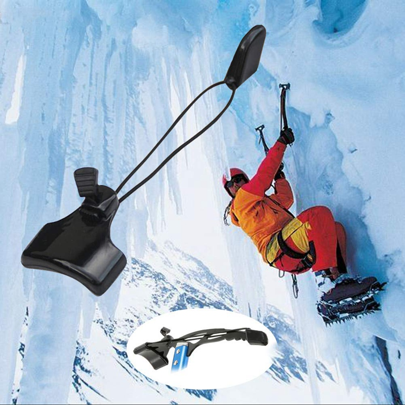 Outdoor Portable Ice Axe Protective Head Cover Protector Spike Pick Accessory Kit Hiking Rock Climbing