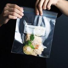 Reusable Tough Ziplock Food Storage Freezer Bags Leak Proof  Airtight Seal For Freezers Keep Food Fresh Ideal For Veggies Fruit freezers biryusa 14