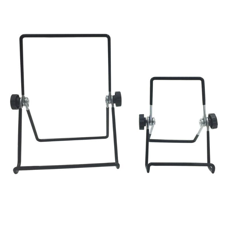 Универсальный держатель 360 ° Регулируемый складной металлический провод Подставка для iPad аксессуары для планшетов