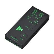 חם 3C Voice מחליף מתאם 8 קול Changeing מצבי מיקרופון מסווית טלפון מיקרופון כרטיס קול עבור PUBG משחק עוגן קול
