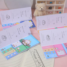 3 Sizes Set Cute Novelty Sticky Notes Memo Pad Index Sticker Bookmark Page Flag Sticker School Office Stationery Supplies