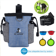 Professional pet treat dog pouch tote bag waist bag Multifunction training dog Helpers for dogs german shepherd mascotas