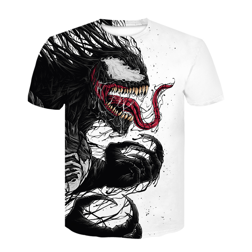 2019 T Shirt Men Newest Venom Marvel T-shirt 3d Printed T-shirts Men Women Casual Shirt Fitness Funny T Shirt Tees Tops
