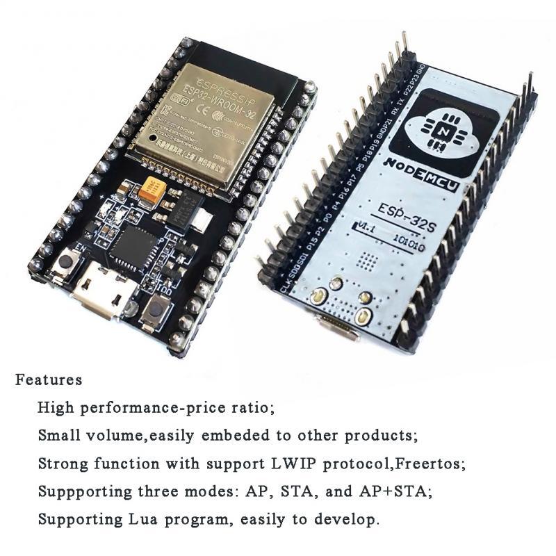 ESP32 ESP32-WROOM-32 Lua WI-FI IOT макетная плата Беспроводной BLE NodeMCU-32S WI-FI модуль BLE Ai-thinker