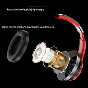 Image 5 - Lenovo auriculares inalámbricos HD200 con Bluetooth, dispositivo de audio estéreo, BT5.0, con larga duración de reposo y cancelación de ruido, para Xiaomi, iphone y Lenovo