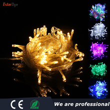 holiday Led christmas lights outdoor 100M 50M 30M 20M 10M led string lights decoration for party holiday wedding Garland 10m 20m 30m 50m led 110v 220v outdoor multicolor led string lights christmas lights holiday wedding party decoration luces led