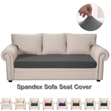 Solid Colour Sofa Seat Covers For Living Room Elastic Sofa Cushion Cover Anti Waterproof oil Stretchy