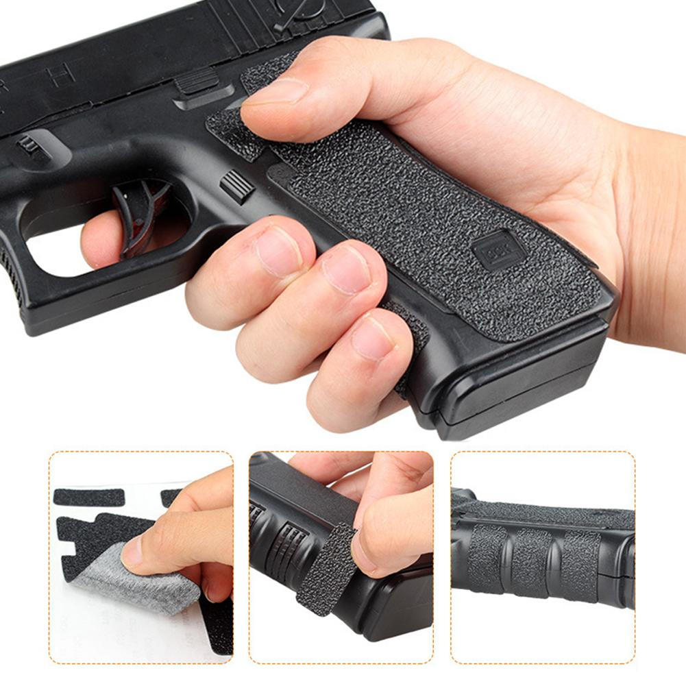 Sporting Rubber Grip Glove Cover Sleeve Anti Slip for Most of Airsoft Hunting