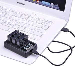 Image 5 - 4Pcs 1680mAh AHDBT 401 Battery for Gopro Hero 4 Battery AHDBT401 AHDBT 401 + LED 3 Port USB Charger For GoPro Hero4 HERO4 Camera