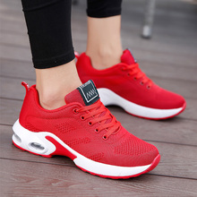 Women Casual Sneakers Summer Mesh Breathable Shoes Platform Sneakers Female Basket Breathable Mesh Running Sports Non-slip Shoe