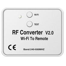 JABS Universale WiFi Interruttore di Telecomando 433MHz WiFi per Convertitore RF Multi Frequenza Codice di Rotolamento Porta Del Garage di Controllo Remoto
