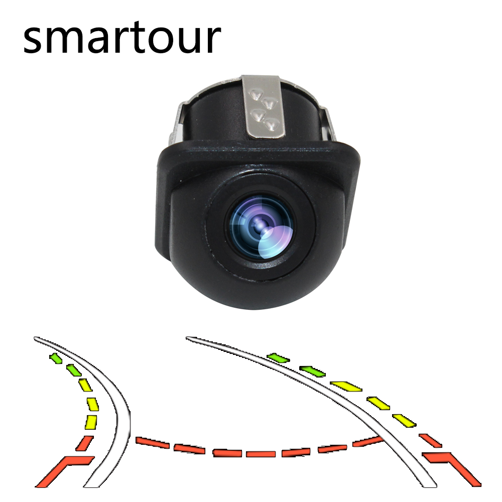 Smartour Auto Reversing Parking Camera Intelligent Dynamic Trajectory Tracks Rear View Camera HD CCD Reverse Backup Assistance