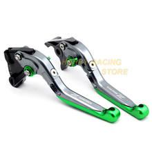 Folding Extendable Adjustable Brake Clutch Lever For KAWASAKI Z800 Z 800 2013-2016 2014 2015 Motorcycle Accessories Parts