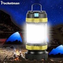 Походный светильник светодиодный светильник для кемпинга USB Перезаряжаемый флэш-светильник с регулируемой яркостью Точечный светильник рабочий светильник водонепроницаемый поисковый светильник аварийный фонарь