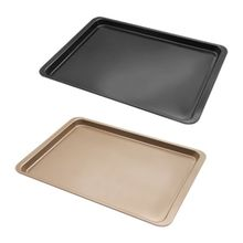 Carbon Steel Rectangle Pan Mold Baking Cookies Muffin Tray DIY Non Stick Large Cake Bakeware 6 12 holes square cupcake pan muffin tray cupcake mold muffin pan carbon steel baking pan non stick bakeware biscuit pan zxh