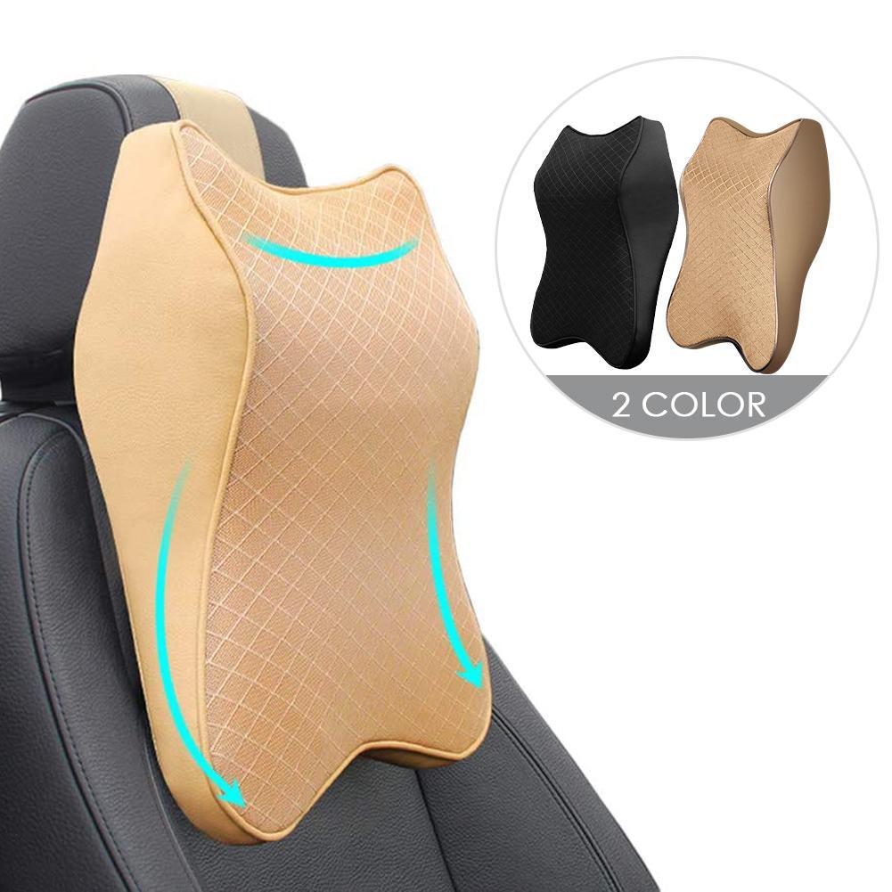 2020 Автомобильная подушка для шеи, 3d-подушка с эффектом памяти, регулируемая Автомобильная подушка для подголовника, подушка для путешестви...