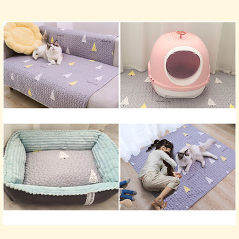 Durable Plush Comfortable Pet Mat For Cats & Dogs  1
