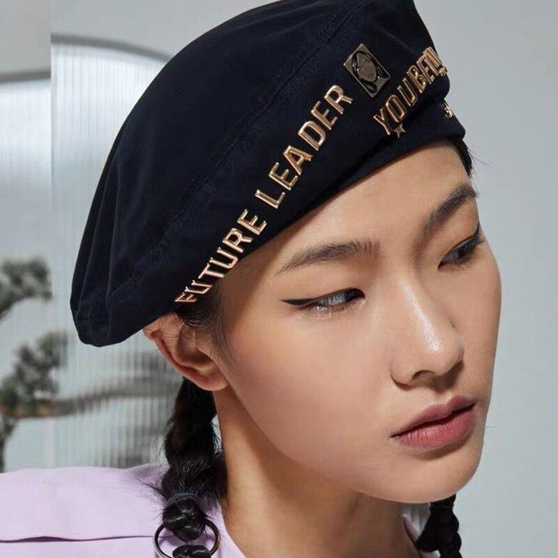2020 фирменные модные аксессуары берет из чистого хлопка летняя тонкая шляпа женская шляпа газетчика британская восьмиугольная шляпа