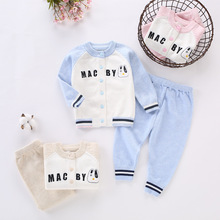 New Spring Autumn Fashion Baby Girls Clothes Long Sleeve Knit Sweater+pants Sets of Children Baby Clohting Knit Set Sweater set kids girls knit skirt sets spring 2018 teenage girls long sleeve sweater top