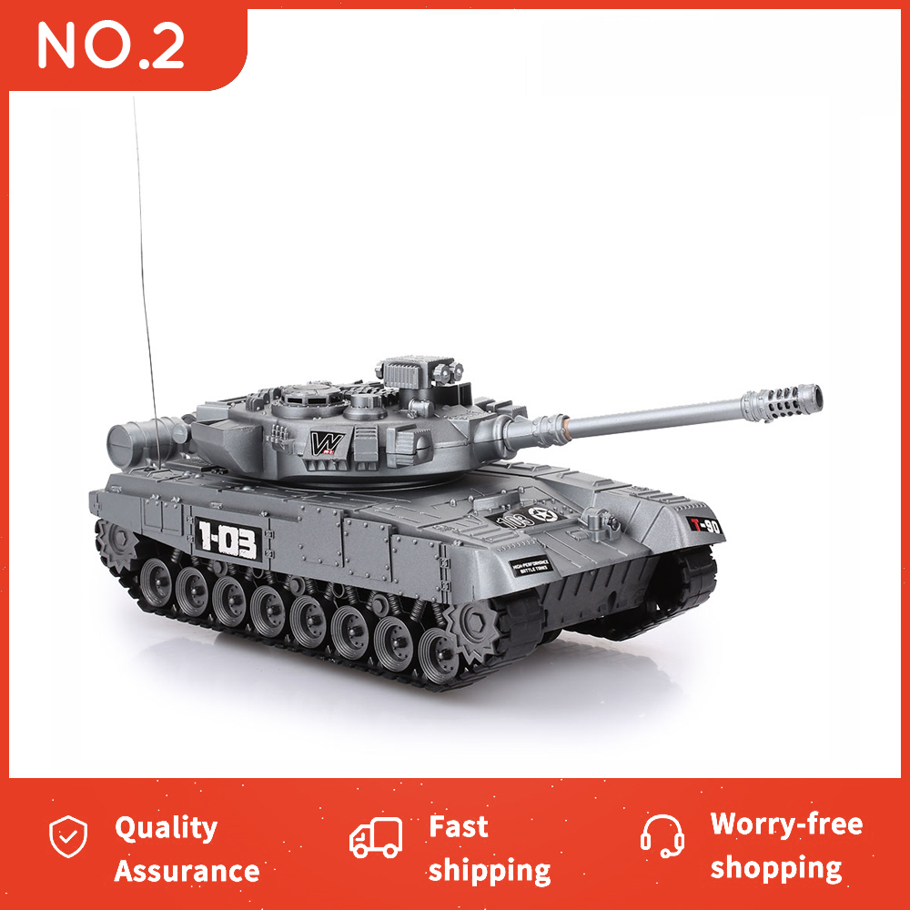 RC Tank Battle Launch Cross-Country Tracked Remote Control Vehicle crawler Raido world of tanks Kit Hobby Boy Toys for Kids