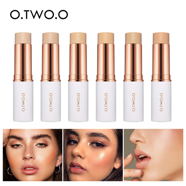 O.TWO.O 6pcs Concealer Stick Makeup Set Long Lasting Waterproof Full Coverage Contour Cosmetics