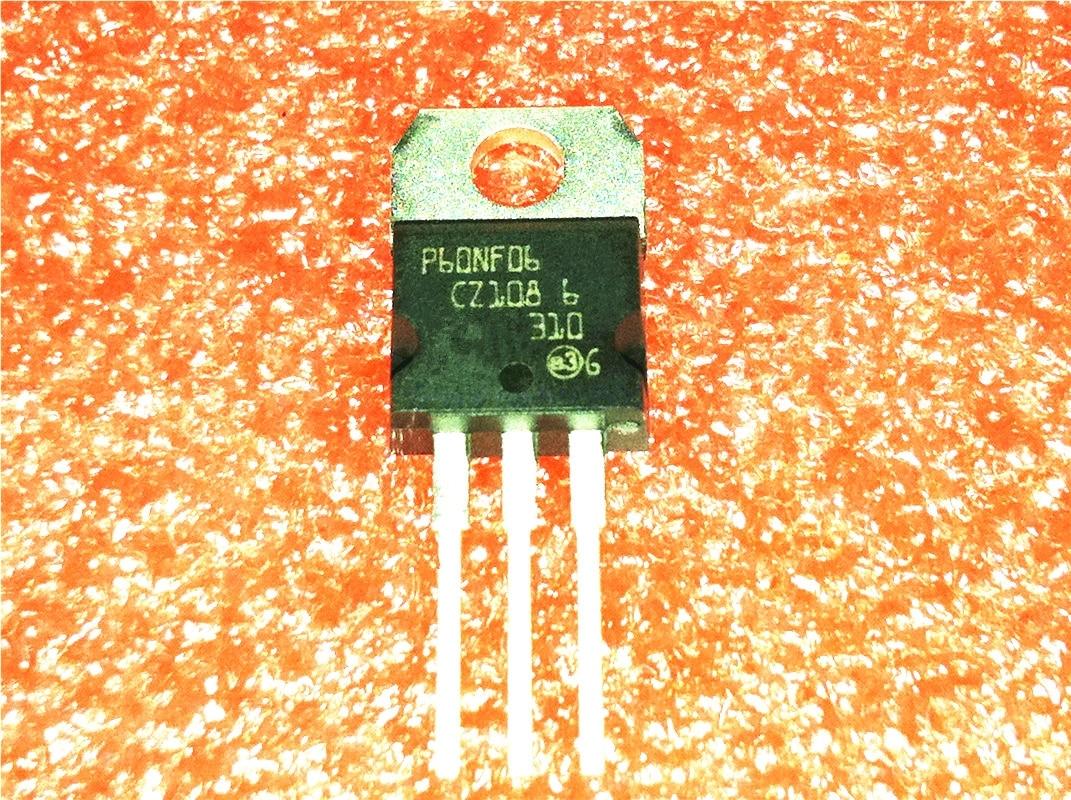 1pcs/lot STP60NF06 P60NF06 60V 60ATO-220