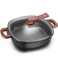 Electric Hot Pot Pot Home Multi-function Electric Cooker 2 Student Dormitory 3 Cooking One 4 Electric Wok 6 People