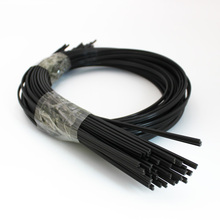 1m long black ABS/PE/PP plastic welding rods electrodes for hot air welder gun car bumper repair tools black sticks soldering