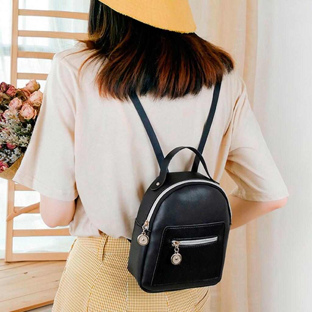 2020 School Bags For Teenage Girls Shoulders Small Backpack Letter Purse Mobile Phone Messenger Bag Mochilas