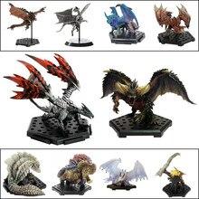 Monstro caçador mundo ps4 jogo limitado pvc modelos dragão figura de ação japonês genuíno crianças brinquedo presentes