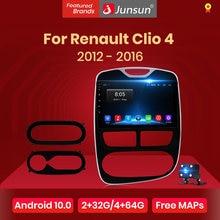 Junsun V1 Android 10,0 DSP CarPlay Auto Radio Multimedia Video Player Auto Stereo GPS Für Renault Clio 4 ZOE 2012 - 2016 2 din dvd