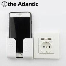 Настенная розетка мощность 16A ЕС стандартная розетка с 2A двойной usb-порт для зарядки для мобильного телефона белый пластик USB розетка мощность