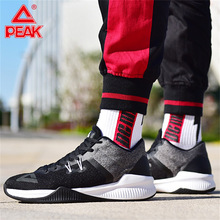 PEAK Men Basketball Shoes Wearable Non-slip Support Breathable Sneakers Classic Retro Casual Sports Shoes Fitness Training Shoes li ning men 24h smart quick training shoes breathable comfort lining wearable sports shoes anti slippery sneakers afhn019 yxx024