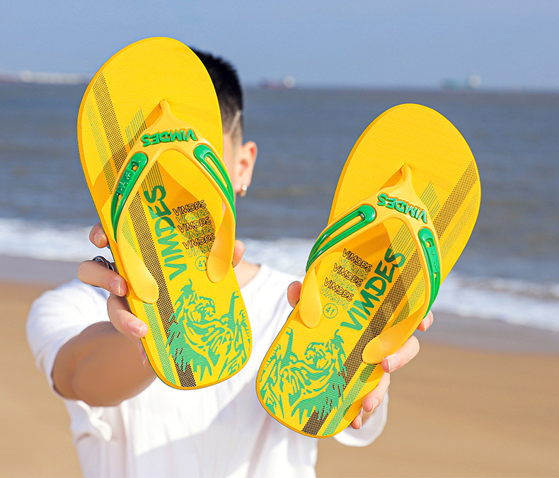 H512c1f6436104a5ebcd0db522575a053i - VESONAL Summer Graffiti Print Slippers Men Shoes Flip Flops Slipers Male Hip Hop Street Beach Slipers Casual Flip-flops