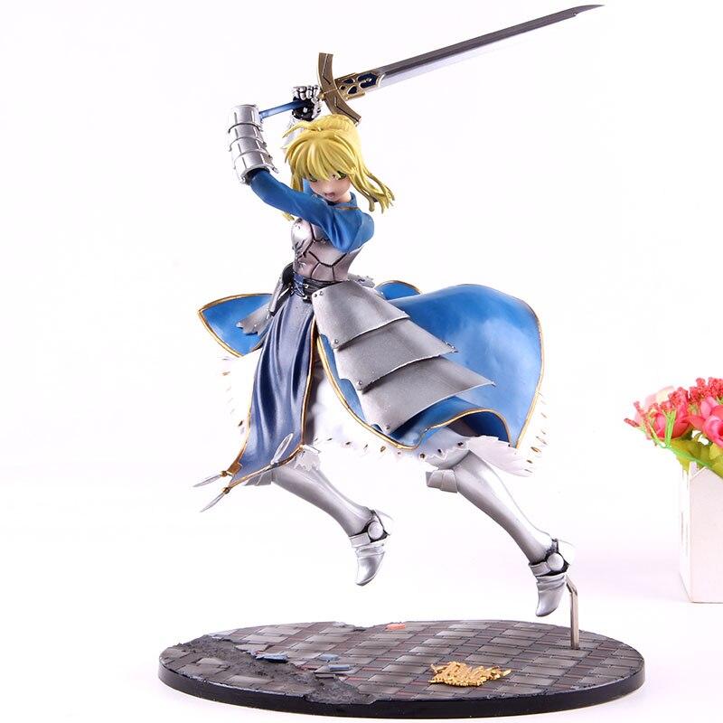 Anime destin rester nuit figurines d'action sabre Lily Arturia Pendragon destin PVC figurine à collectionner modèle jouet fille Collection