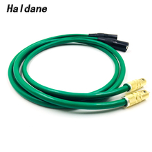 Haldane Pair Type-Cardas RCA to XLR Balacned Audio Cable RCA Male to XLR Male Interconnect Cable with MCINTOSH USA-Cable free shipping qed signature ofc silver platedr interconnect cable with xlr male plug audio cable