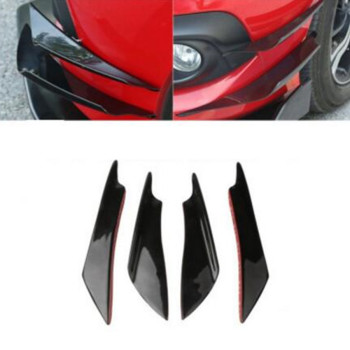 universal Car Front Bumper splitter lip diffuser for audi a4 b8 altea jetta mk6 ford focus 3 mazda cx5 e90 bmw mercedes cla image