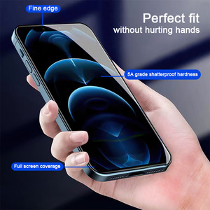 Image 2 - HOCO 3D Protective Glass for iPhone 7 8 XR Xs Max on iPhone 11 12 Pro Max Screen Protector Full Cover Glass for iPhone 12 Mini