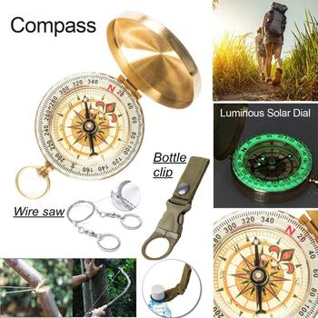 Survival kit set military outdoor travel mini camping tools aid kit emergency multifunct survive Wristband