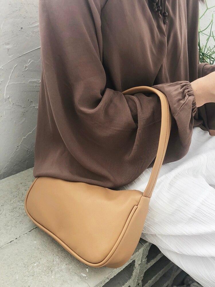 2020 Woman Small Bags Brand Female Shoulder Bag Luxury Handbags Women Bags Designer Simple Purses Ladies Handbag Shoulder Bags