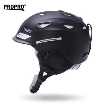 PROPRO Professinal Ski Snowboard Helmet For Men Women Adult Ultralight Integrally-molded Airflow Climate Control Adjustable Fit